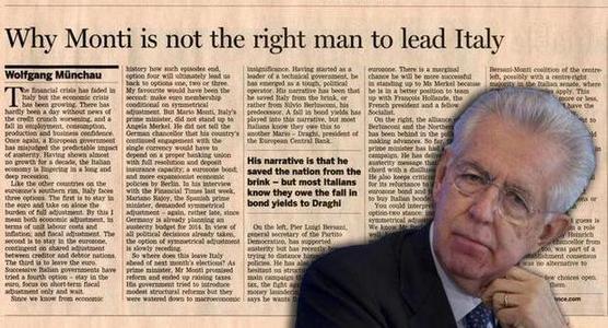 Perché l'Italia non può permettersi l'austerità di Monti