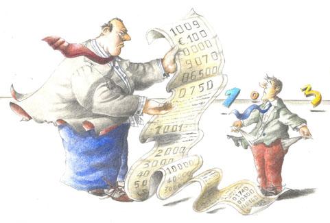 L'insostenibile rimborso del debito
