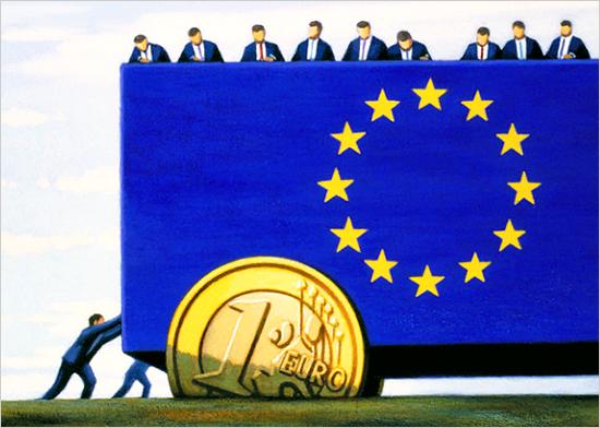 Gli scenari del teatrino europeo
