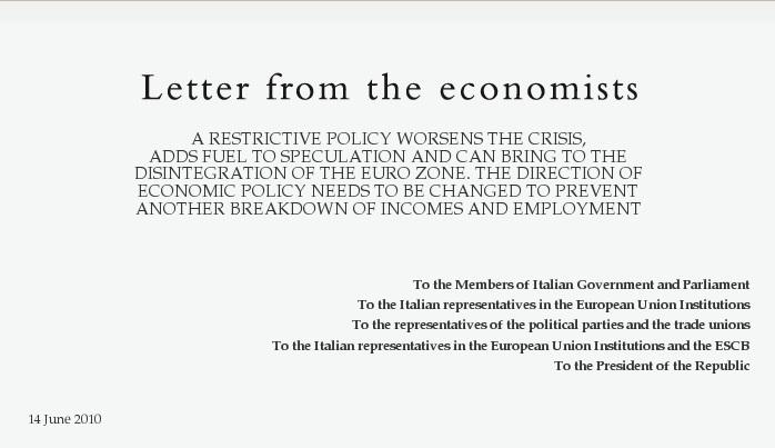 """Oltre il """"momento Kindleberger"""", contro l'austerity globale"""