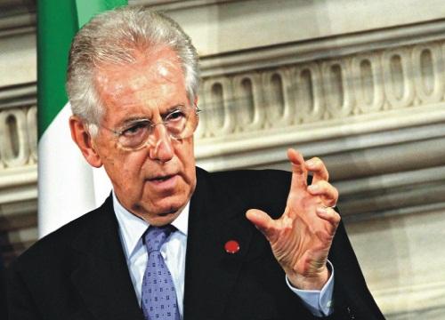 La decrescita infelice del governo Monti