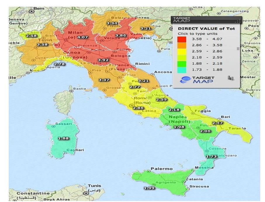 Gli investimenti e l'attrattività territoriale italiana