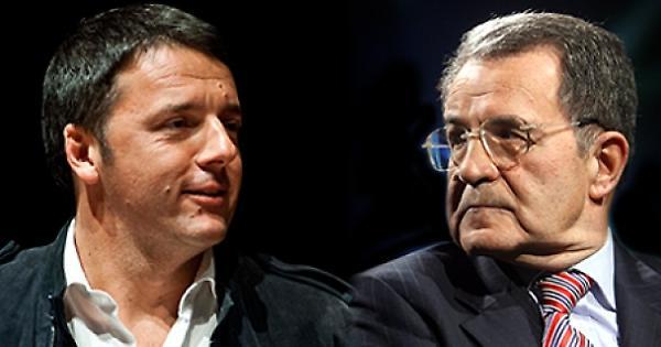 Renzi e Prodi: due diversi programmi economici