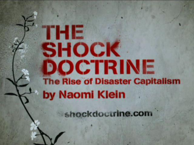 """L'Europa e la """"shock doctrine"""""""